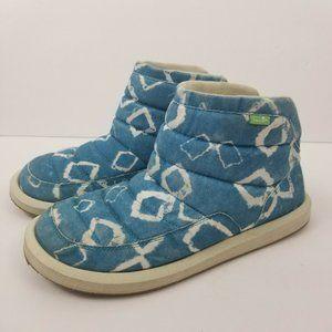 Sanuk Puff N Chill Lauren Slip On Boots